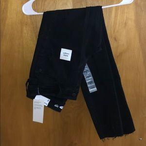 Distressed Black Skinny Jeans, 2